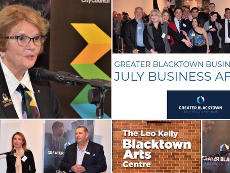Blacktown Moving Forward theme highlights GBBC July event