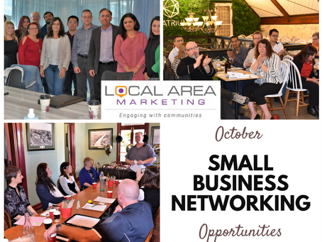 Networking opportunities for small business owners - October