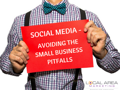 Small business social media mistakes & how to avoid them