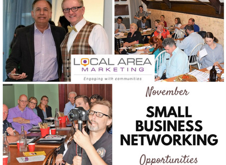 Networking Opportunities for small business owners - November
