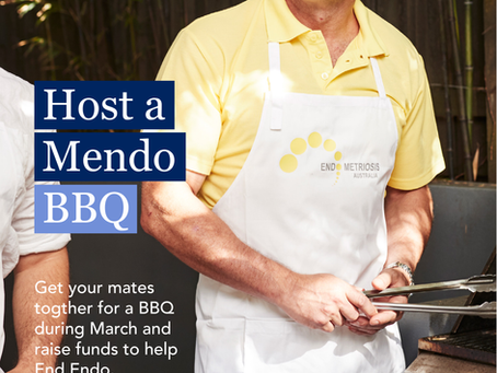 Men - Host a Mendo BBQ - raise funds to help End Endo!