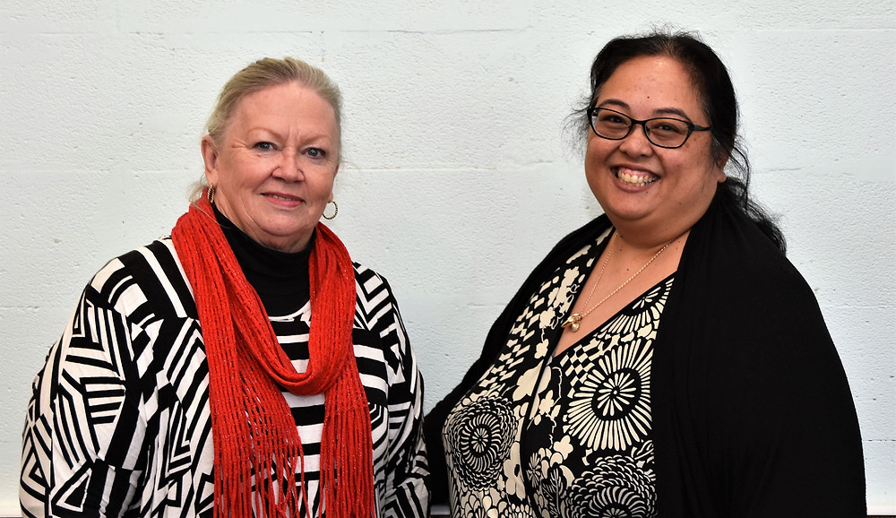 Greater Western Sydney Business Booster organisers Sheila Cabacungan and Robyn Atkins