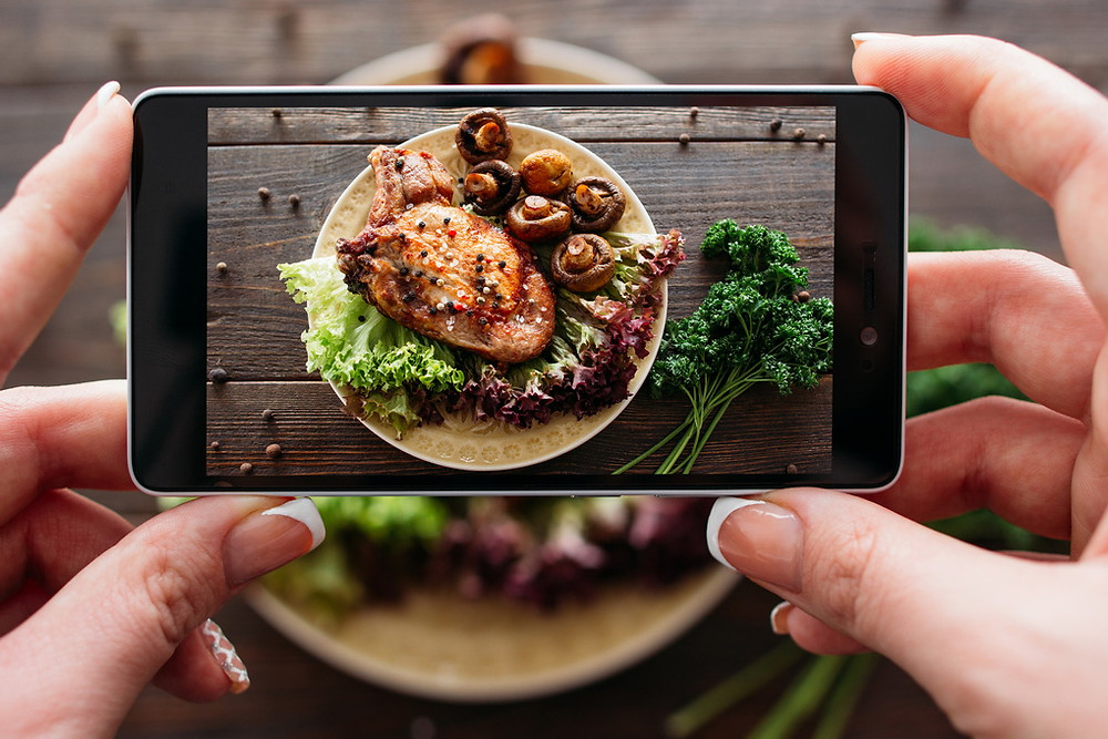 'Foodies' will always share photos of their food - good or bad.
