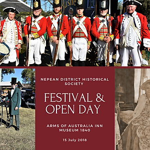Nepean District Historical Society Festival & Open Day