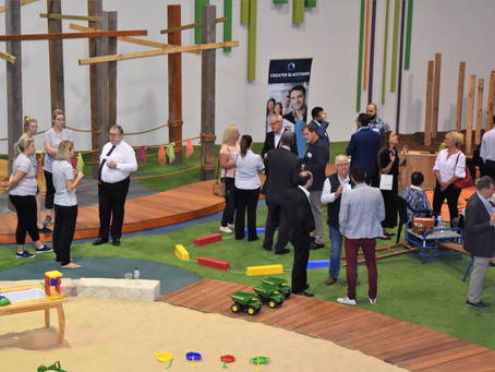 GBBC members back to pre-school at Grace Village Early Learning Centre