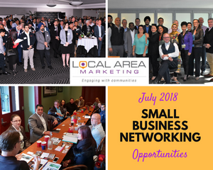 Local Area Marketing Small Business Networking graphic