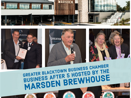 Marsden Brewhouse opens-up for June GBBC Business After 5 networking