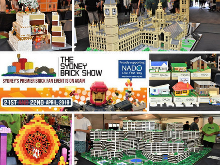 Little bricks make a big impact - Sydney Brick Show (Lego)