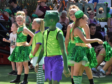 Penrith's Festival of Green pulls the crowds for St Patrick's Day celebration