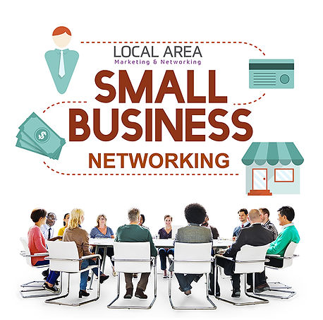 Local Area Marketing & Networking promo.