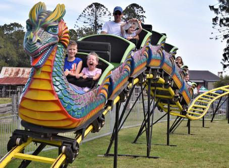 It was hot - but Australia Day at Bella Vista was fun!