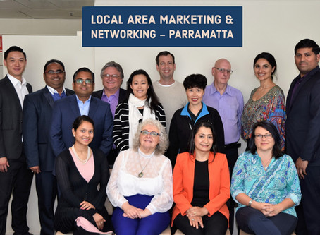 Strong marketing flavour features at  Parramatta October business networking