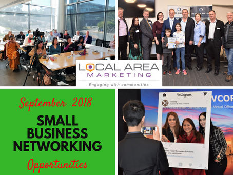 Networking Opportunities  for Small Business Owners - September