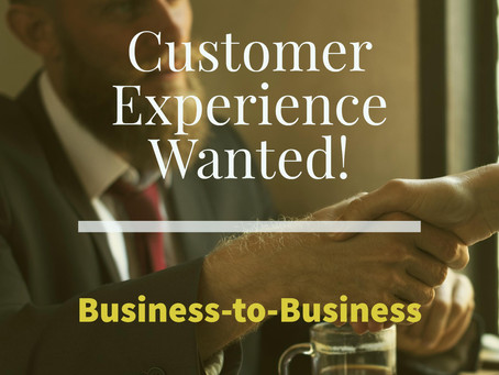 Customer Experience Key in 2017 B2B Drivers