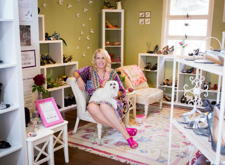 Why Carol's feet led her to a thriving small business