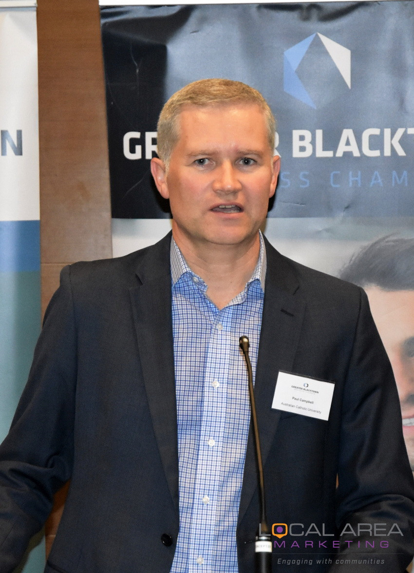 Paul Campbell, Deputy Chief Operating Officer, Australian Catholic University