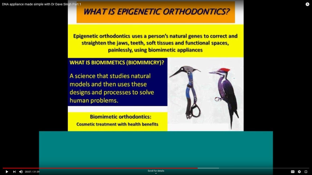 Epigenetic Orthodontics & Biomimetics explained