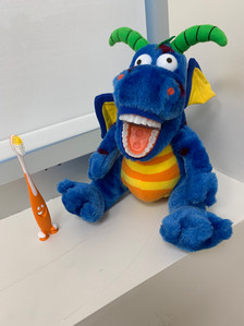 Learn how to brush your teeth with Roy!