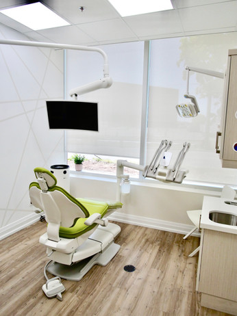 Operatory bathed in natural light.
