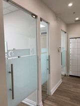 Closed operatories for privacy and infection control
