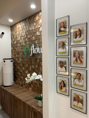 Reception desk with Surgically Clean Air purifier