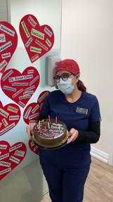 Happy birthday Luciana!