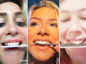 Dangerous TikTok trends worrying dentists