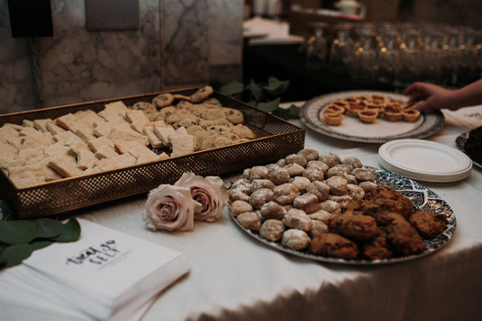 Assortment of Desserts at the Capital Ro