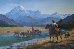 2014 In the Tasman Valley