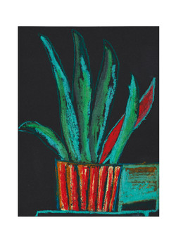 Untitled (Red plant pot)