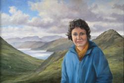 2011 Alison Craig above Loch Duich circa1950