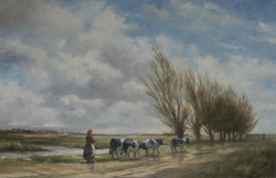 2008 Cattle on the Marsh, Norfolk