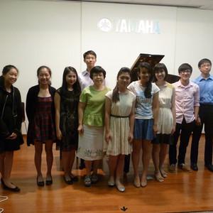 Casual Students' Recital Seniors 2014 @Yamaha Thomson