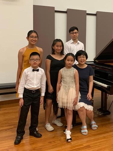 Students' Recital at YST 2019