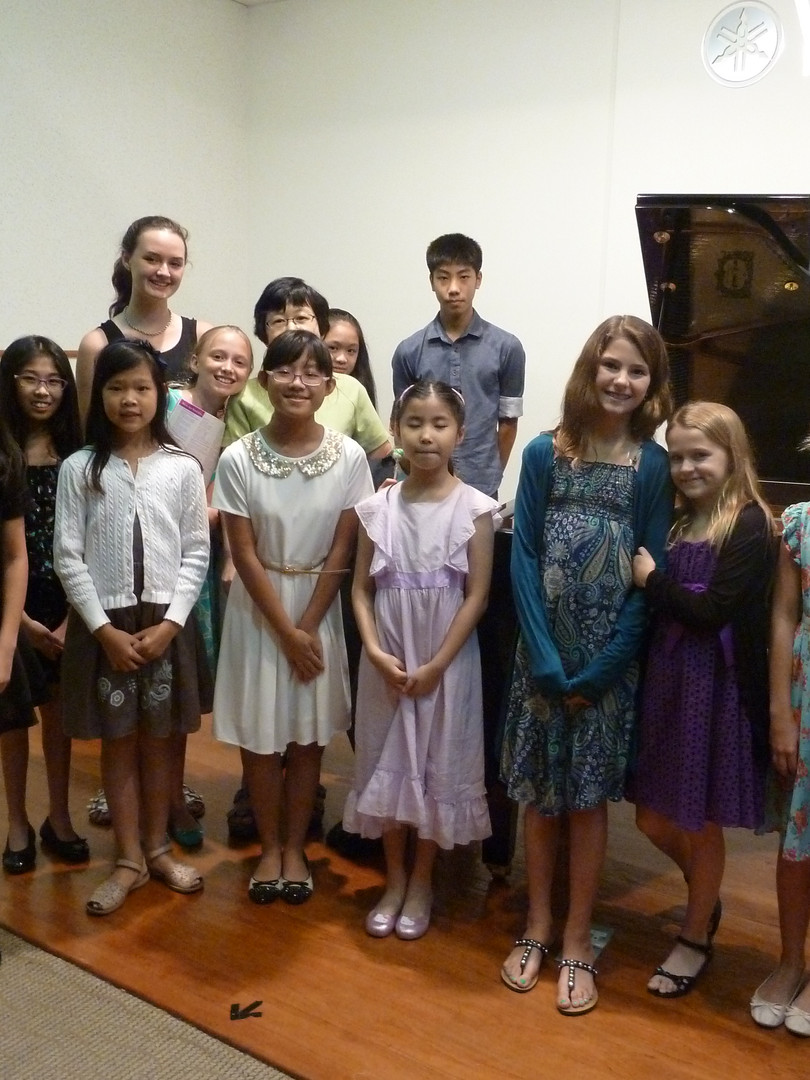 Students' Recital @Yamaha Thomson Plaza 2014