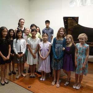 Casual Students' Recital Juniors 2014 @Yamaha Thomson