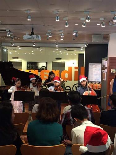 Students' Recital @Esplanade Library 2017