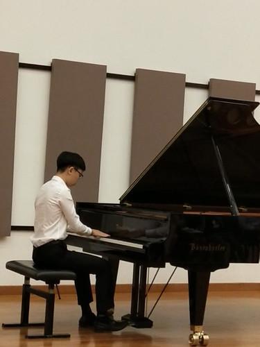 Ben's performance at YST Recital Hall 2019