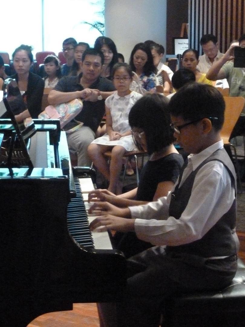 Students' Recital @Esplanade Library 2016