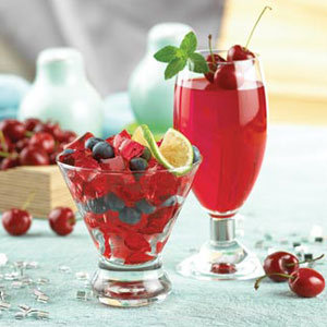 Fiber Cherry Gelatin