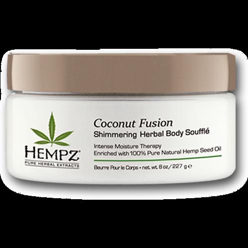 Hempz Coconut Fusion Shimmering Herbal Body Soufflé 8oz