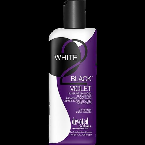 White 2 Black Violet 9.5oz