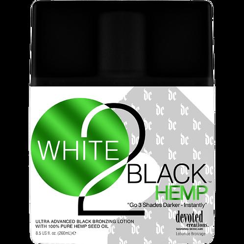 White 2 Black Hemp 8.5oz