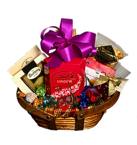 Memphis Gift basket with chocolate