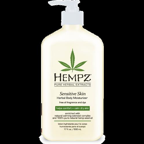 Hempz Sensitive Skin Moisturizer 17oz