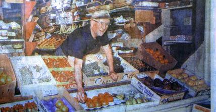 Mr. Albonetti's Fruit Stand