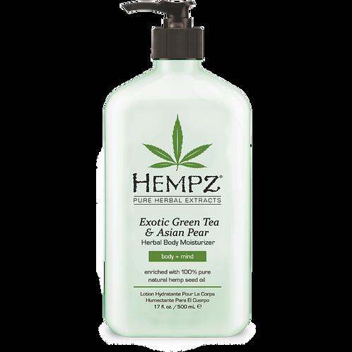 Hempz Exotic Green Tea & Asian Pear Moisturizer 17oz