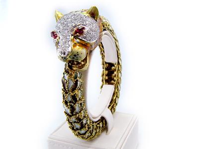 Jaguar bracelet
