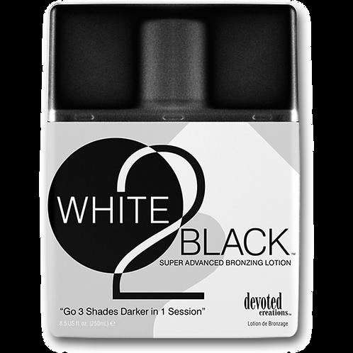 White 2 Black 8.5oz