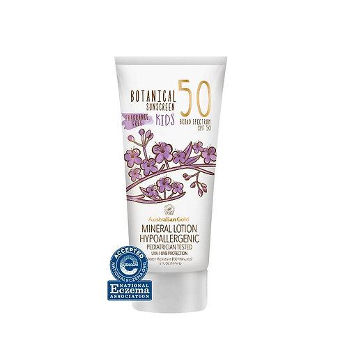 Botanical SPF 50 Kids Mineral Sunscreen Lotion 5oz